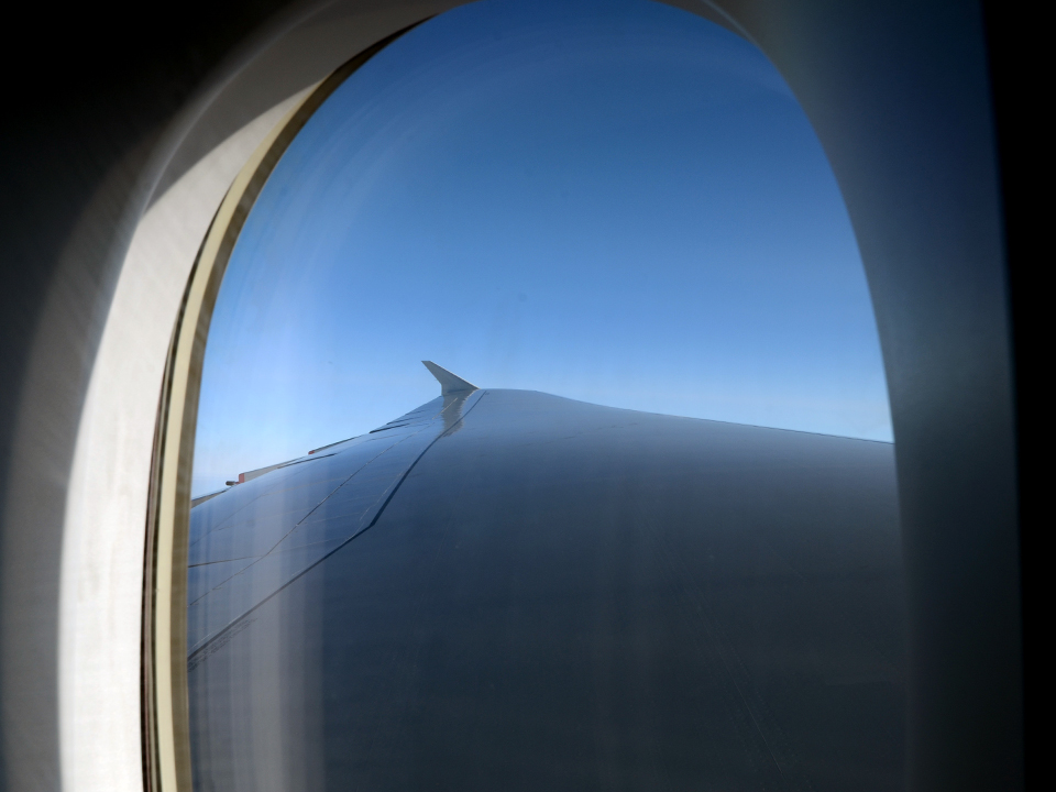 BA A380 Trip – The A380 Wing