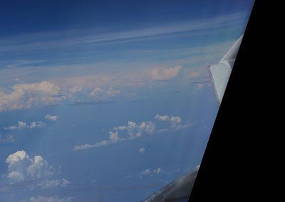 BA207 Top Deck Window Traffic