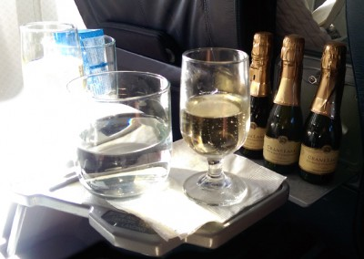 Champagne Business Class