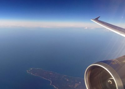 AA6480 (BA Airbus) over Gotland