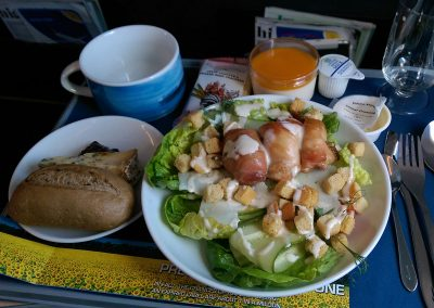 Later Lunch on AA6480 (BA Airbus)