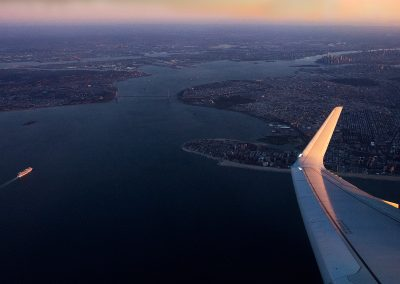 Red-Eye coast-to-coast on American Airlines Airbus A321T