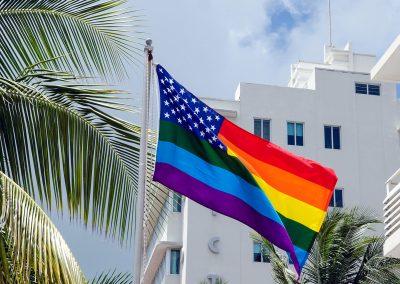 Miami Beach Gay Pride Flag