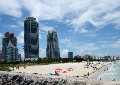 Miami Beach from South Pointe Pier