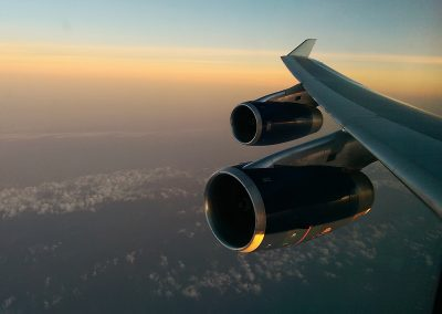 BA206 Sunset