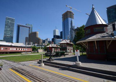 Toronto Railway Museum Roundhouse Park