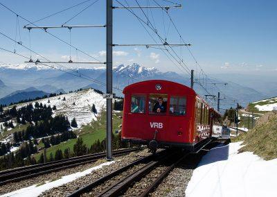Red Train from Vitznau