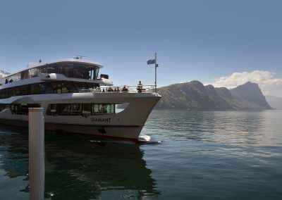 Boat from Vitznau, Mount Rigi to the beautiful city of Lucerne