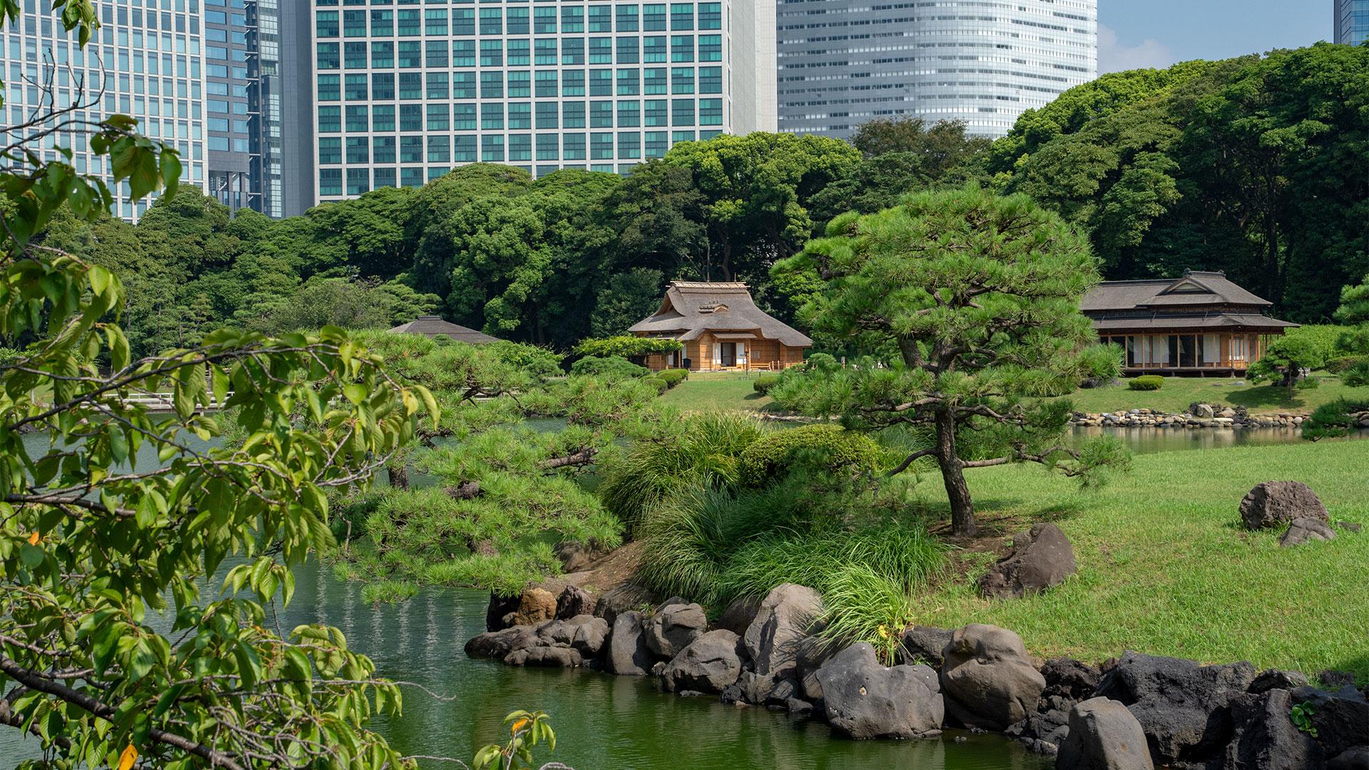 Hamarikyu Gardens, Tokyo - Photo by Kiss Travel